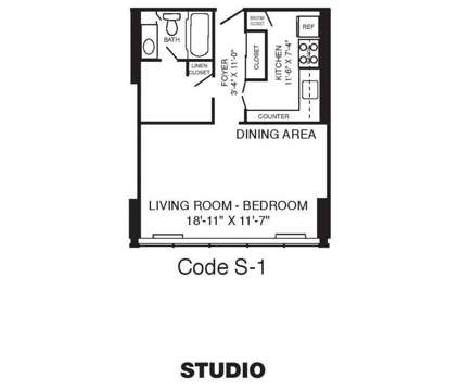 Studio - Cooper River Plaza at 5105 North Park Dr in Pennsauken NJ is a Apartment