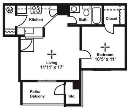 1 Bed - Keystone Apartments at 2502 New Bacon Ranch Rd in Killeen TX is a Apartment