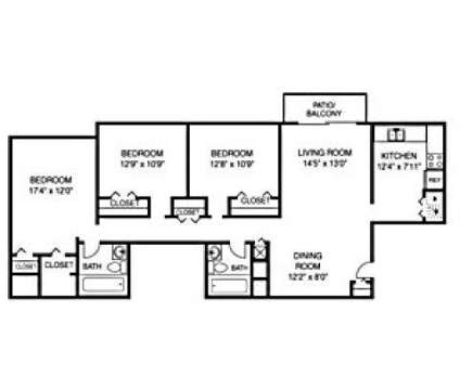 3 Beds - Rolling Hills Apartments at 9100 Rainbow Springs Ct in Louisville KY is a Apartment