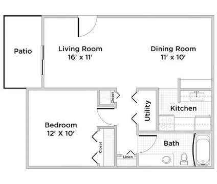 1 Bed - The Commons at Kettering at 4427 Wilmington Pike in Kettering OH is a Apartment