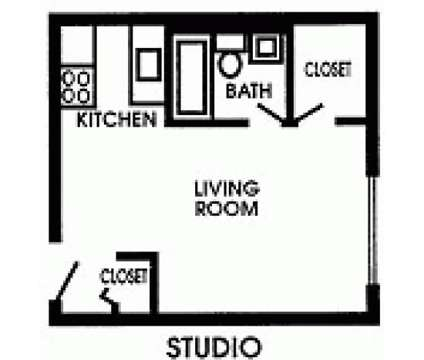 Studio - Kensington Court at 23305 Lorain Road in North Olmsted OH is a Apartment