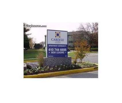 1 Bed - Carlyle Landing at 6307a Monika Place in Baltimore MD is a Apartment