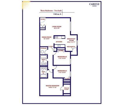 3 Beds - Carlyle Landing at 6307a Monika Place in Baltimore MD is a Apartment