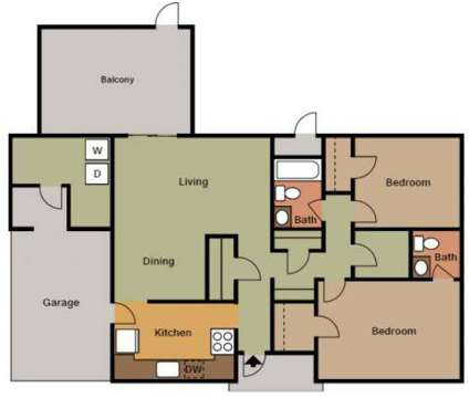 2 Beds - Whiting Field Homes at 570 Merrill Drive in Milton FL is a Apartment