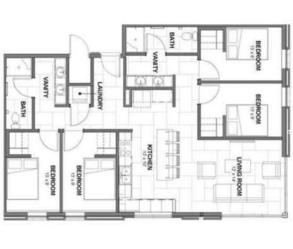 4 Beds - Canopy Lofts at 601 R St in Lincoln NE is a Apartment