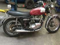 1976 triumph boniville 750