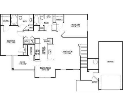 2 Beds - Parks Edge at Shelby Farms at 536 Shelby Grove Dr in Cordova TN is a Apartment