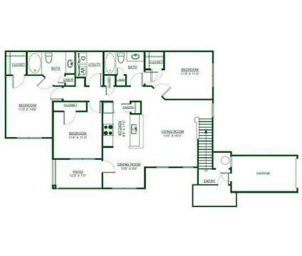 3 Beds - Parks Edge at Shelby Farms at 536 Shelby Grove Dr in Cordova TN is a Apartment