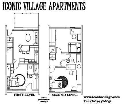 3 Beds - Iconic Village at 529 W Rossi St in Boise ID is a Apartment