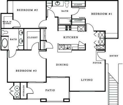 3 Beds - Miraflores Luxury Apartments at 2606 Thomas Dr in El Centro CA is a Apartment