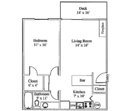 1 Bed - Highlander Apartments at 3030 W 4th Avenue in Kennewick WA is a Apartment