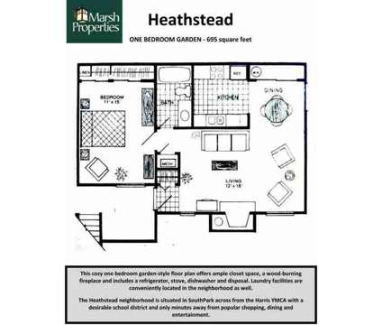 1 Bed - Heathstead Condominiums at 6140 Heathridge Ct in Charlotte NC is a Apartment