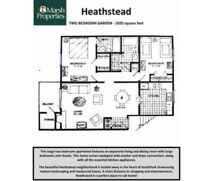 2 Beds - Heathstead Condominiums at 6140 Heathridge Ct in Charlotte NC is a Apartment