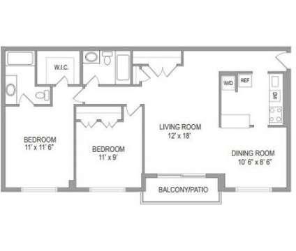 2 Beds - Edlandria at 6198 Edsall Road in Alexandria VA is a Apartment