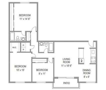 3 Beds - Edlandria at 6198 Edsall Road in Alexandria VA is a Apartment