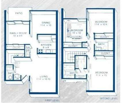 3 Beds - Mallgate of St. Matthews at 514 Brightwood Place in Louisville KY is a Apartment