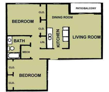 2 Beds - Coronado Trails Apartments at 300 Skyview St in El Paso TX is a Apartment