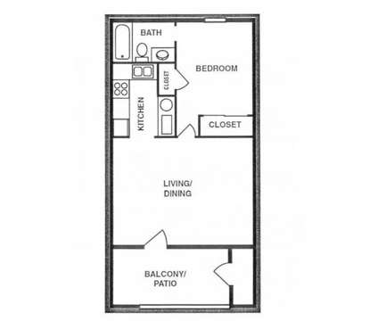 1 Bed - Chelsea Village at 7100 Natalie Avenue Ne in Albuquerque NM is a Apartment
