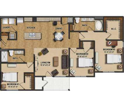 3 Beds - Residences on Ronald Reagan at 10531 Kings Row Dr in Avon IN is a Apartment