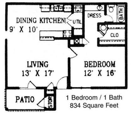 1 Bed - The Waverly Apartments at 7101 Tulane Rd North in Horn Lake MS is a Apartment