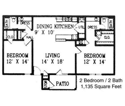 2 Beds - The Waverly Apartments at 7101 Tulane Rd North in Horn Lake MS is a Apartment