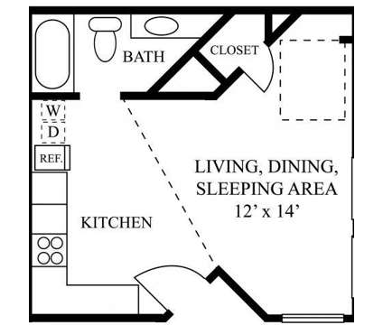 Studio - Barrington at Park Place at 3220 Duval Road in Austin TX is a Apartment