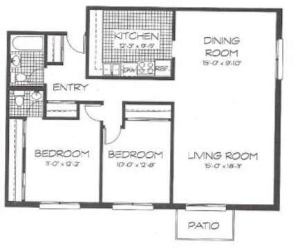 2 Beds - Park Ridge Commons at 9030 Kennedy Dr in Des Plaines IL is a Apartment