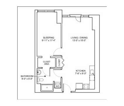 1 Bed - Mezzo Design Lofts at 30 Caldwell St in Boston MA is a Apartment