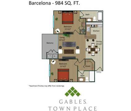 2 Beds - Gables Town Place at 21409 Town Lakes Dr in Boca Raton FL is a Apartment