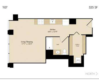 Studio - 215 West at 215 West Washington in Chicago IL is a Apartment