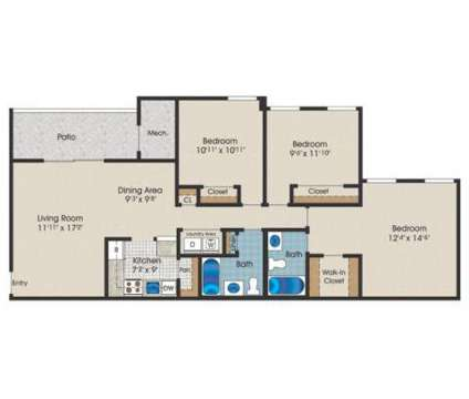 3 Beds - Saddle Brooke Apartments at 307 Foxfire Place in Cockeysville MD is a Apartment