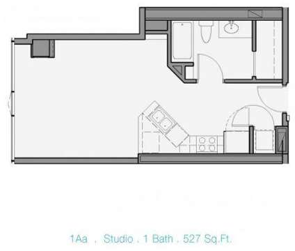 Studio - EnV Chicago at 161 W Kinzie in Chicago IL is a Apartment
