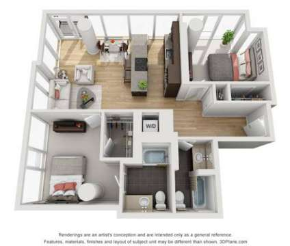 2 Beds - EnV Chicago at 161 W Kinzie in Chicago IL is a Apartment