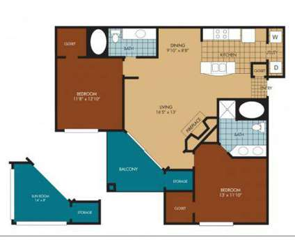 2 Beds - Legacy at Valley Ranch at 7902 Macarthur Blvd in Irving TX is a Apartment