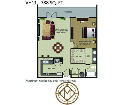 1 Bed - Mizner Park at 401 Ne Mizner Blvd in Boca Raton FL is a Apartment