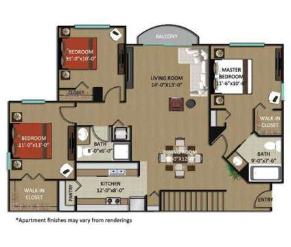 3 Beds - Gables Montecito at 9016 Alister Boulevard East in Palm Beach Gardens FL is a Apartment