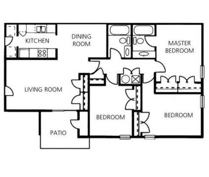 3 Beds - Crossings at Fox Meadows at 2894 Putting Green Cove in Memphis TN is a Apartment