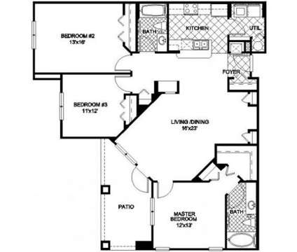 3 Beds - NorthBridge at Millenia Lake at 4902 Millenia Blvd in Orlando FL is a Apartment
