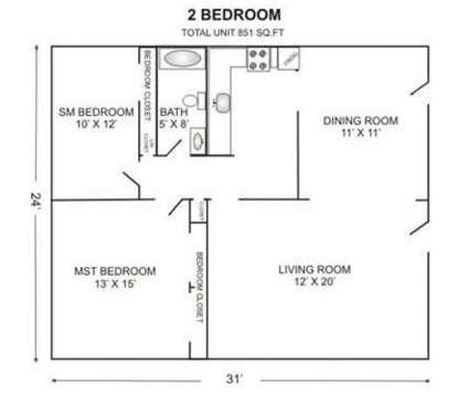 2 Beds - Churchill Court at 120 Klondike Avenue in Haverhill MA is a Apartment