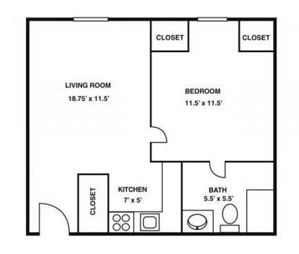 1 Bed - Cabot Crossing at 130 Bowden St in Lowell MA is a Apartment