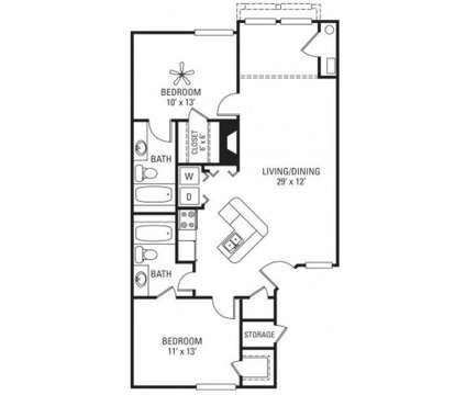 2 Beds - Autumn Run Apartments at 1627 Country Lakes Dr in Naperville IL is a Apartment