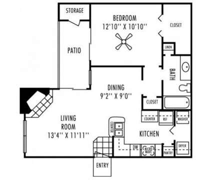 1 Bed - Remington Hill at 5701 Overton Ridge Boulevard in Fort Worth TX is a Apartment