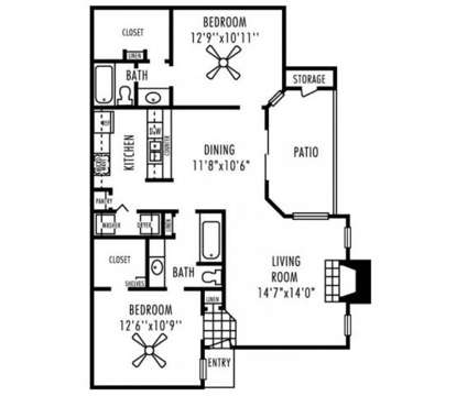 2 Beds - Remington Hill at 5701 Overton Ridge Boulevard in Fort Worth TX is a Apartment