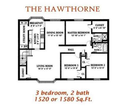 3 Beds - Holly Point at 2540 Holly Point Boulevard in Chesapeake VA is a Apartment