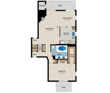 1 Bed - Park Grove Apartments at 1821 West Golf Rd in Mount Prospect IL is a Apartment