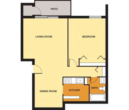 1 Bed - LindenBrooke Apartments at 600 Royal Dr 124 in Bethel Park PA is a Apartment