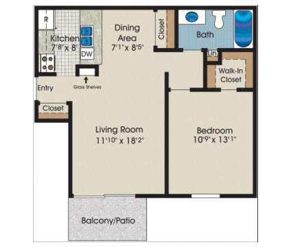 1 Bed - Courtyards Village at 30 W 041 Flamenco Ct in Naperville IL is a Apartment