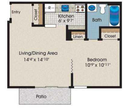 Studio - Morningside at 106 Pleasant Ridge Dr in Owings Mills MD is a Apartment