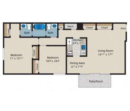 2 Beds - Morningside at 106 Pleasant Ridge Dr in Owings Mills MD is a Apartment
