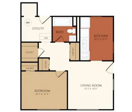 1 Bed - Chicopee Village Townhomes at 68 Eastern Drive in Chicopee MA is a Apartment